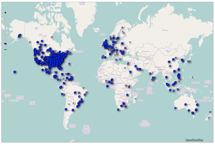 #kjv400 YouVersion's KJV map